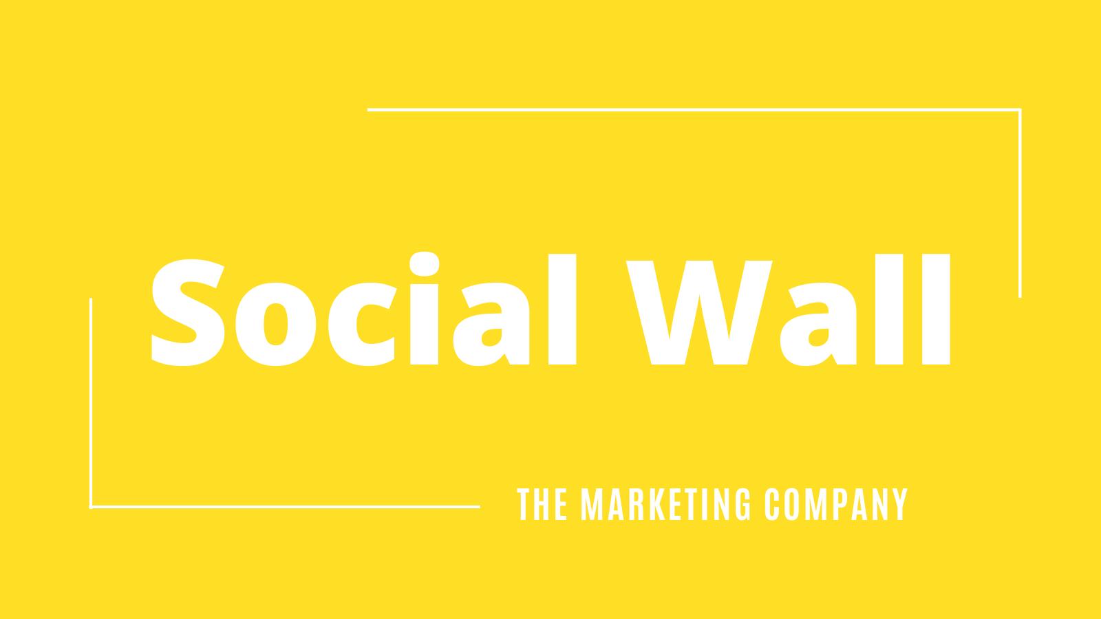 Social Wall