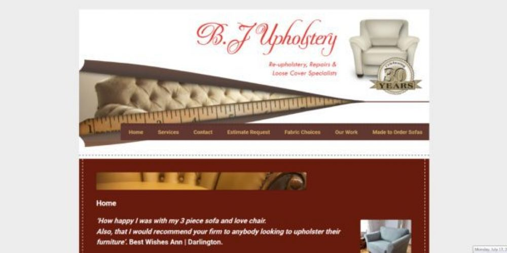 Furniture repairing Website