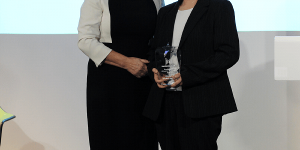 Denise Kay was awarded Best Bank Mentor