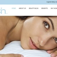 Skin care website